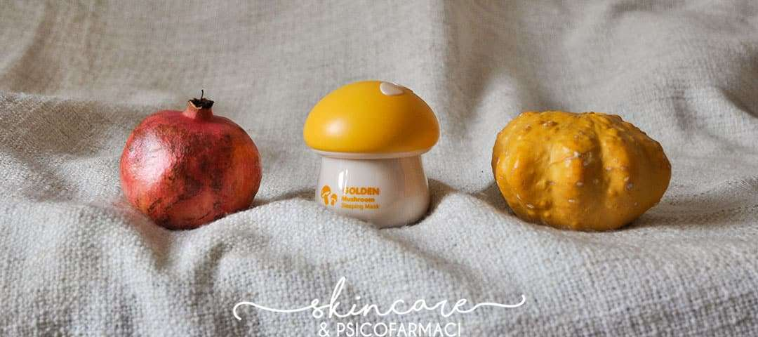 Tony Moly - Magic Food Golden Mushroom Sleeping Mask